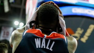 """NBA: Wall lepszy od Westbrooka w meczu """"Rakiet"""" z """"Czarodziejami"""""""