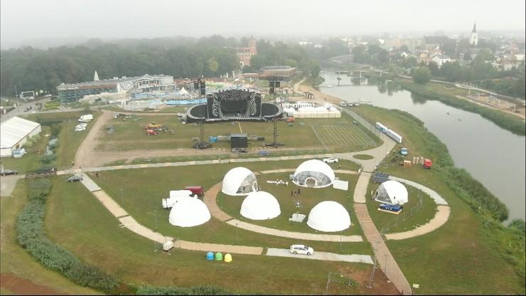 Earth Festival Uniejów 2021. Ecomiasteczko, eksperymenty, jazdy autami wodorowymi i wielki koncert