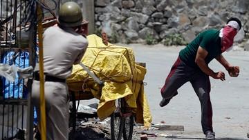 Krwawe starcia w Kaszmirze po śmierci przywódcy separatystów