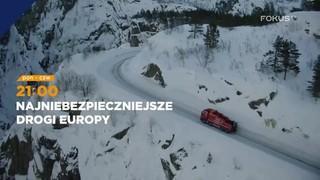 Najniebezpieczniejsze <br> drogi Europy</br>