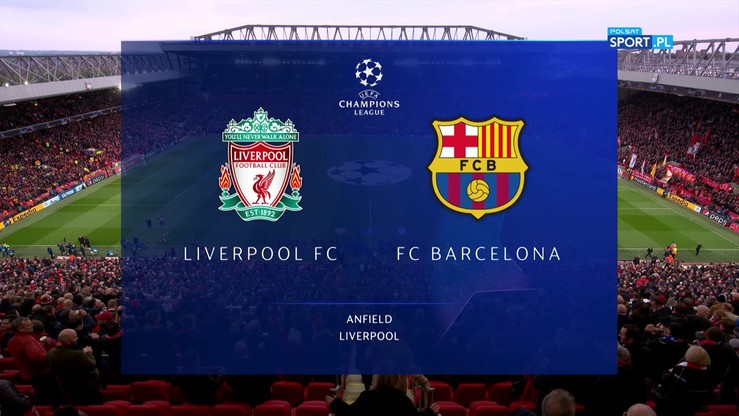 skrót meczu liverpool barcelona