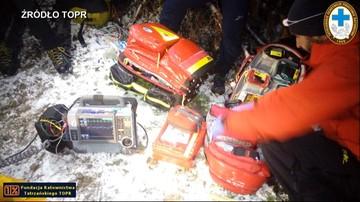 Ratownicy TOPR w internecie zbierają pieniądze na sprzęt, który ma pomóc ratować ludzi w górach