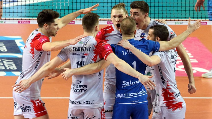 Siatkarze ZAKSY Kędzierzyn-Koźle awansowali do finału Ligi Mistrzów