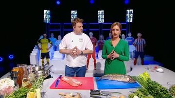 Kuchnia Mistrzów: Polędwica wieprzowa z kukurydzą kontra ryba z mulami
