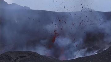 Włoska Etna znów aktywna