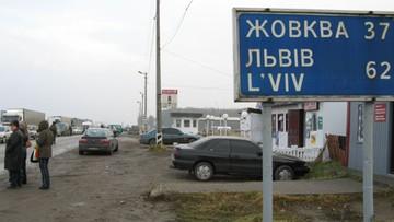 Blokada granicy i hasła o ludobójstwie Polaków; SBU: to akcja służb Rosji