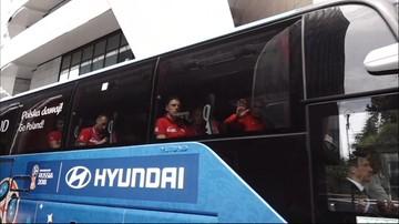 Polscy piłkarze są już w Moskwie. We wtorek mecz z Senegalem