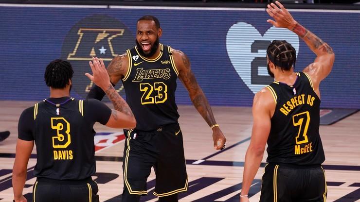 NBA: Zwycięstwo Lakers w 1300. meczu LeBrona Jamesa