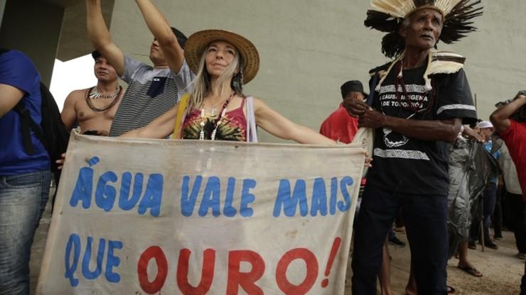 Brazylijczycy protestują przeciwko groźbie prywatyzacji wody