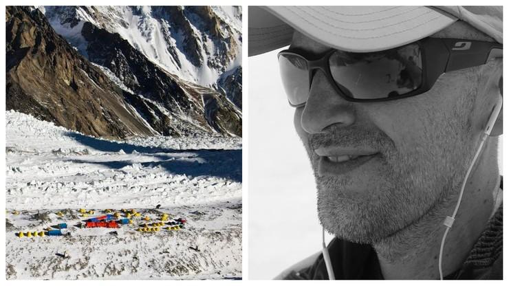 """Polacy świadkami śmierci na K2. """"Sergi nie miał szans na przeżycie"""""""