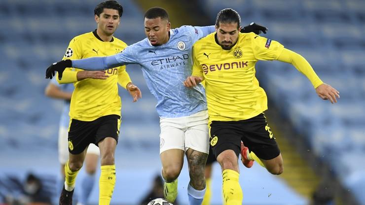 Liga Mistrzów: Manchester City skromnie pokonał Borussię Dortmund