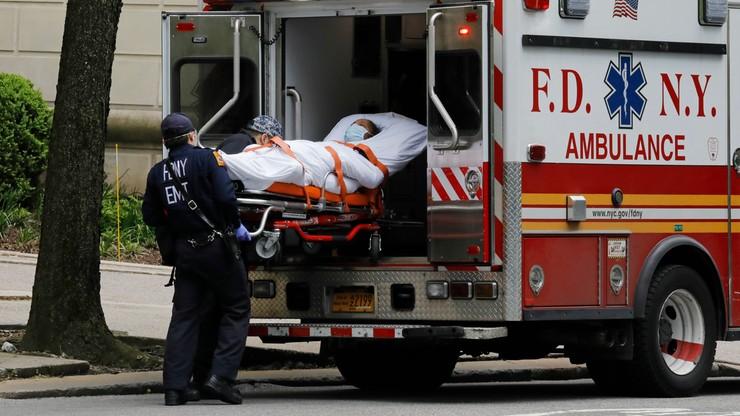 Najniższy dobowy przyrost zgonów od marca. Covid-19 w USA