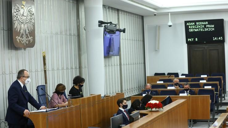Senatorowie PiS nie wzięli udziału w głosowaniu nad uchwałą ws. RPO