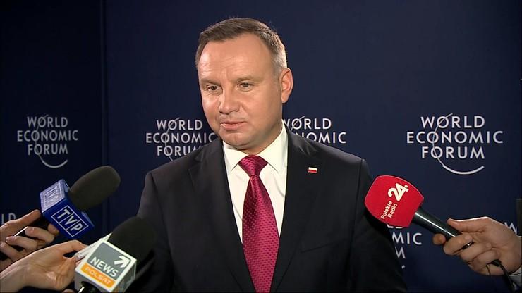 Andrzej Duda zabrał głos ws. wniosku marszałek Witek do TK