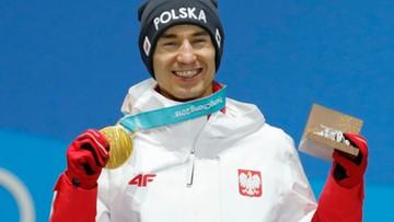 Wzruszające chwile w Pjongczangu. Kamil Stoch odebrał złoty medal olimpijski