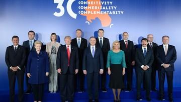 """""""Współpraca przyczyni się do rozwoju całej UE"""". Przyjęto wspólną deklarację szczytu Trójmorza"""