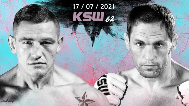 KSW 62: Rewanż Andrzeja Grzebyka z Mariusem Žaromskisem kolejną walką