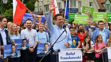 Zaatakował kobietę za plakat Trzaskowskiego. To oświadczenie wiele zmienia