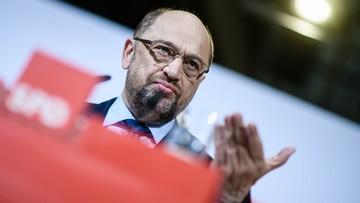 Schulz: SPD za rozmowami sondażowymi na temat koalicji z CDU/CSU