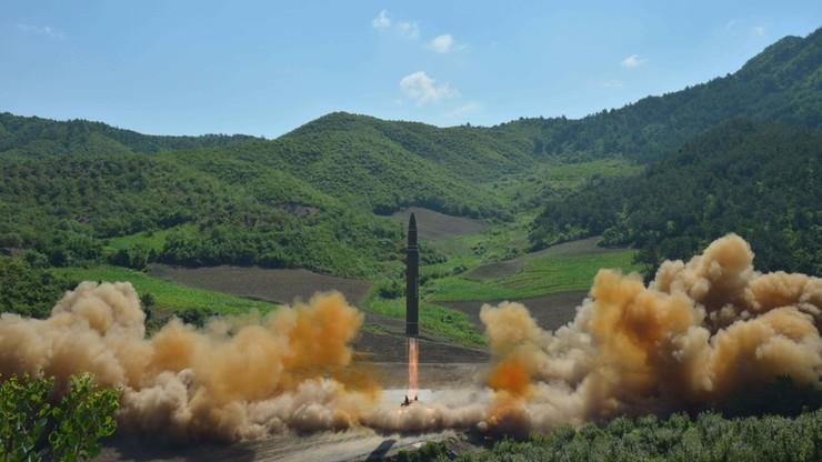 Pentagon: rakieta wystrzelona przez Koreę Płn. to międzykontynentalny pocisk balistyczny