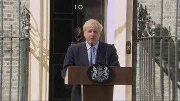 """Boris Johnson premierem Wielkiej Brytanii. Obiecał brexit """"w ciągu 99 dni"""" i zaczął formować rząd"""