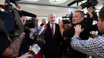 Macierewicz: decyzja o stałej obecności wojsk NATO efektem wyborów w 2015 r.