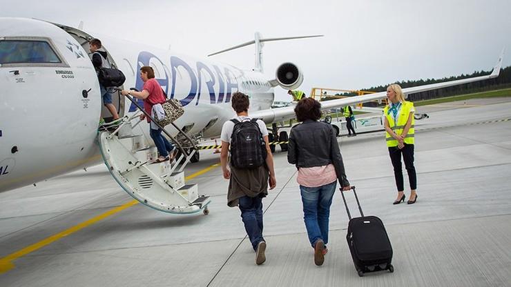 Lotnisko na Mazurach pnie się w górę. Już we wtorek odprawi 30-tys. pasażera