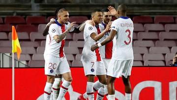 LM: Mbappe upokorzył Barcelonę! Trzy bramki Francuza