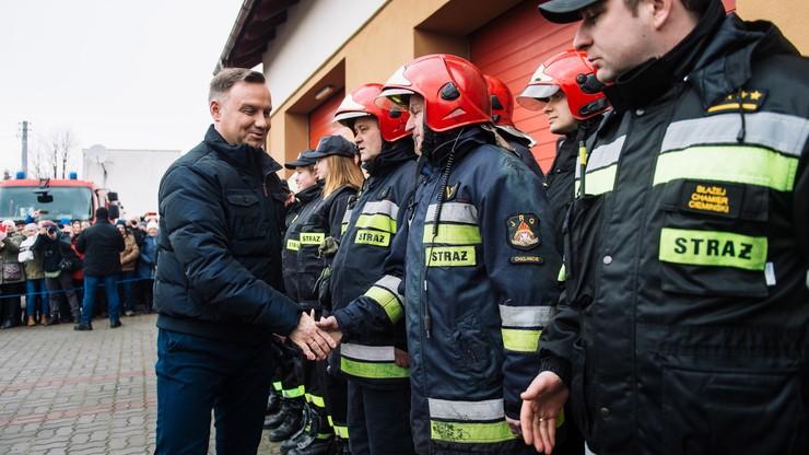 """MSWiA """"przesuwa"""" strażakom z OSP pożarnicze święto. Zamiast w św. Floriana dzień później - w Ireny"""
