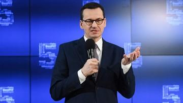 """Nowa """"piątka PiS"""". Morawiecki podał """"mapę drogową"""" realizacji projektów"""