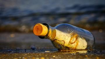 Wiadomość w butelce przepłynęła 4,8 tys. km