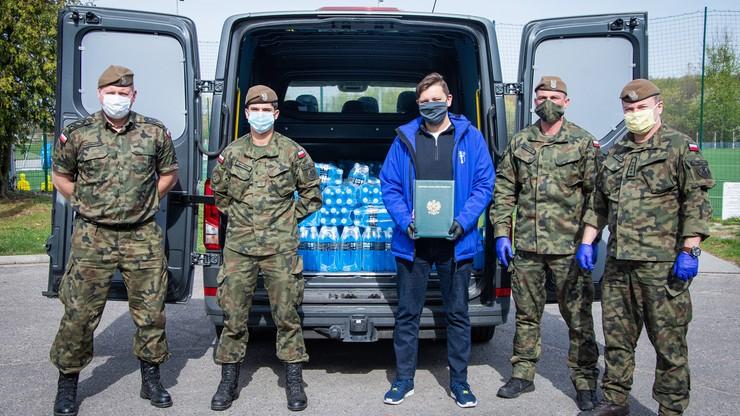 Wisła pomogła szpitalom i… żołnierzom