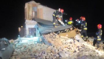 Wybuch gazu w domu jednorodzinnym. Spod gruzów wyciągnięto ciało 53-latka