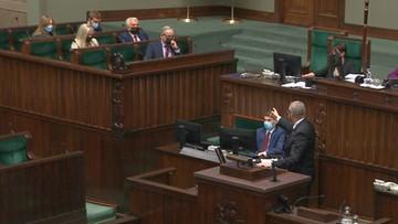 """""""Będziesz pan wisiał"""". Skandal w Sejmie"""