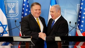 Sekretarz stanu USA: popieramy Izrael w jego konflikcie z Iranem