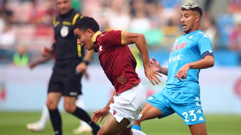 Porażka Wisły Kraków z Napoli w jubileuszowym meczu