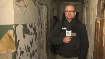 Reporter Polsat News musiał wyjechać z Ługańska