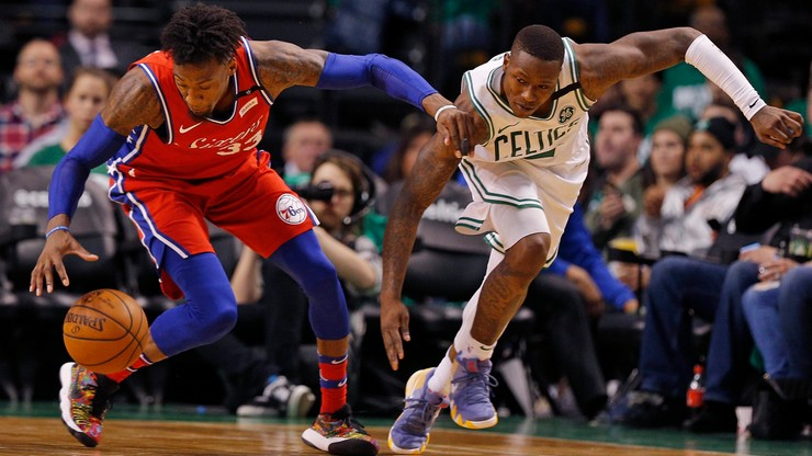 NBA: Celtics pokonali 76ers w pierwszym meczu półfinału na Wschodzie