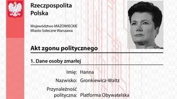 """""""Akty zgonu politycznego"""". Młodzież Wszechpolska przeciw prezydentom miast, którzy chcą przyjąć uchodźców"""