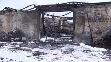 Ugaszono pożar rozlewni chemikaliów w Żywcu. Burmistrz podejrzewa, że wybuchł od uderzenia pioruna