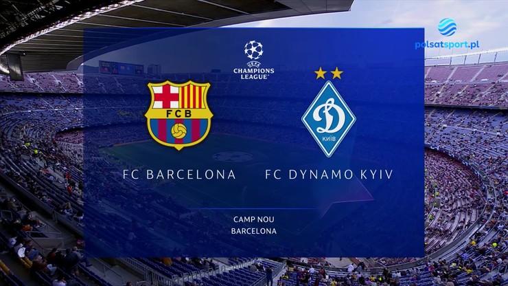 Barcelona - Dynamo Kijów. Skrót meczu
