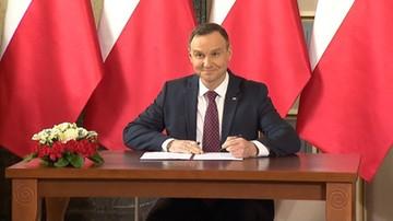 Prezydent podpisał szereg ustaw, w tym nowelę programu Mieszkanie dla Młodych