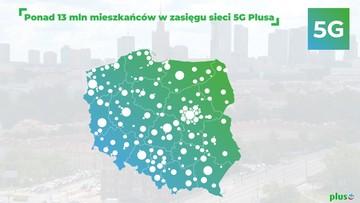 Kolejny milion mieszkańców Polski w zasięgu 5G w Plusie!