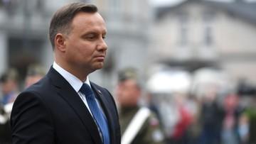 """Prezydent: Polska potrzebuje """"dobrej konstytucji"""". Wierzę, że referendum odbędzie się w tym roku"""
