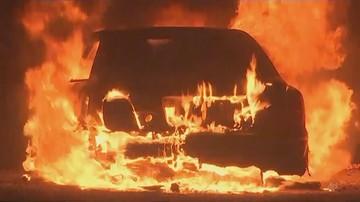 Strażacy walczą z wielkim pożarem lasu w Korei Płd. Ewakuowano ponad 4 tys. osób