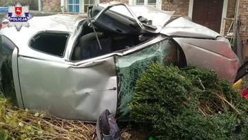 Śmiertelny wypadek w Lubelskiem. Nie żyje 23-latek
