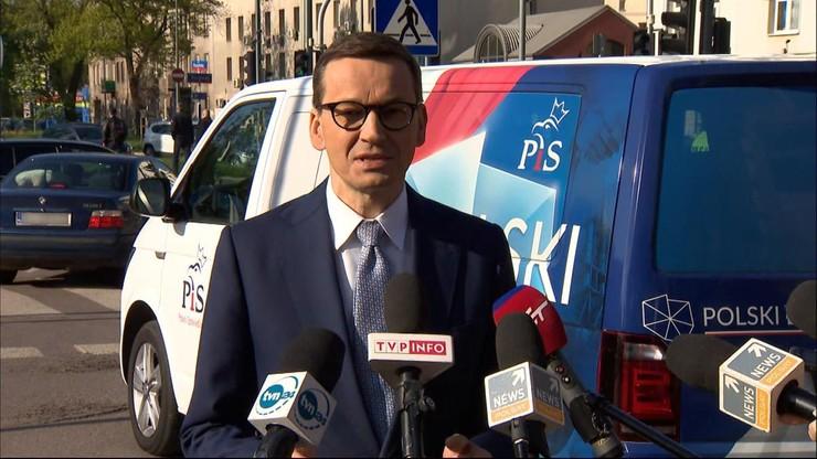 Premier w woj. lubelskim i podkarpackim. Promuje Polski Ład