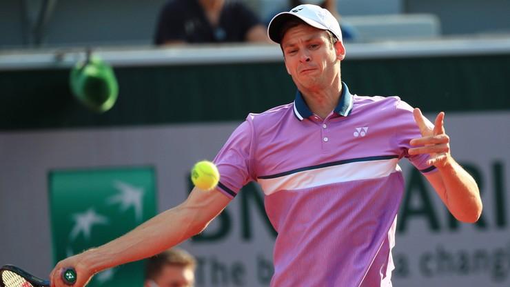 ATP: Awans Huberta Hurkacza w rankingu
