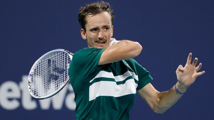 ATP w Miami: Porażka najwyżej rozstawionego Daniiła Miedwiediewa
