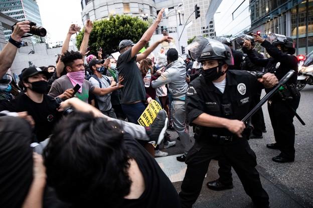 Protest w Los Angeles po śmierci George'a Floyda